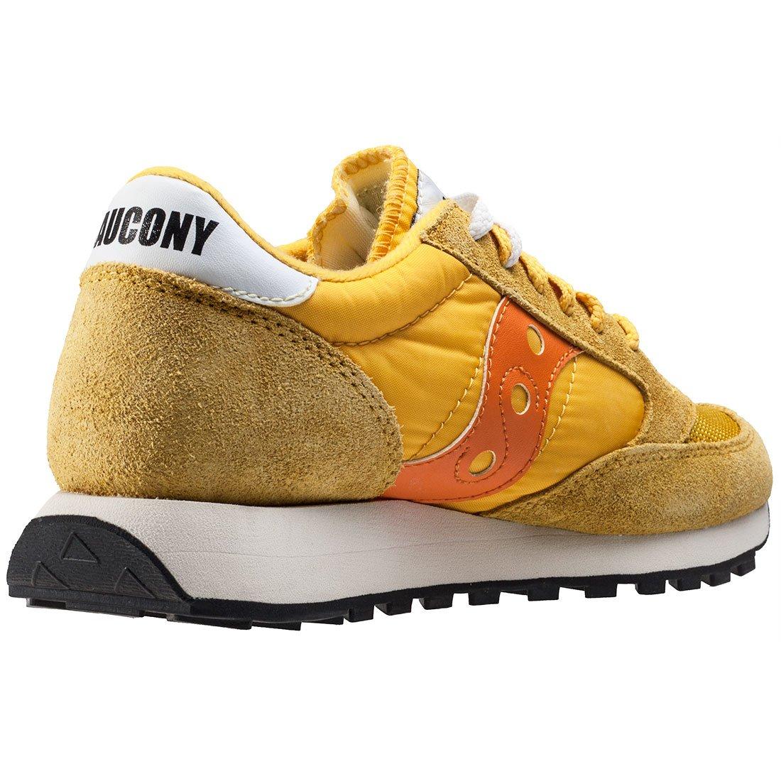 premium selection b318a 1274e Saucony Jazz Original Vintage Womens Trainers Yellow Orange - 6 UK   Amazon.co.uk  Shoes   Bags