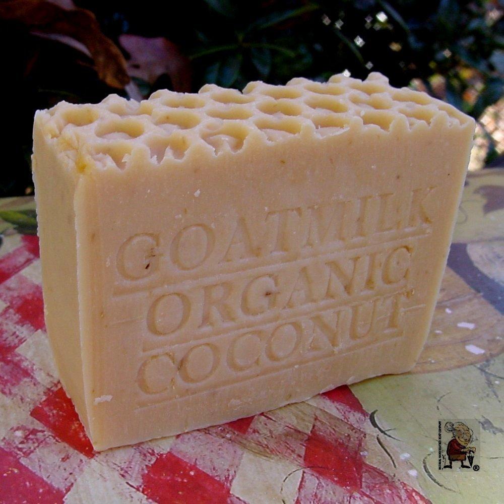 Goat Milk and Organic Coconut Milk - Fragrance Free - Handmade Natural