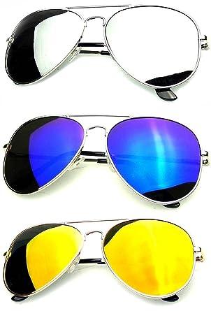 b558c05030184 Younky Unisex Combo Of Uv Protected Aviator Stylish Mercury Sunglasses For Men  Women Boys   Girls ( Gm-Sm-Bm