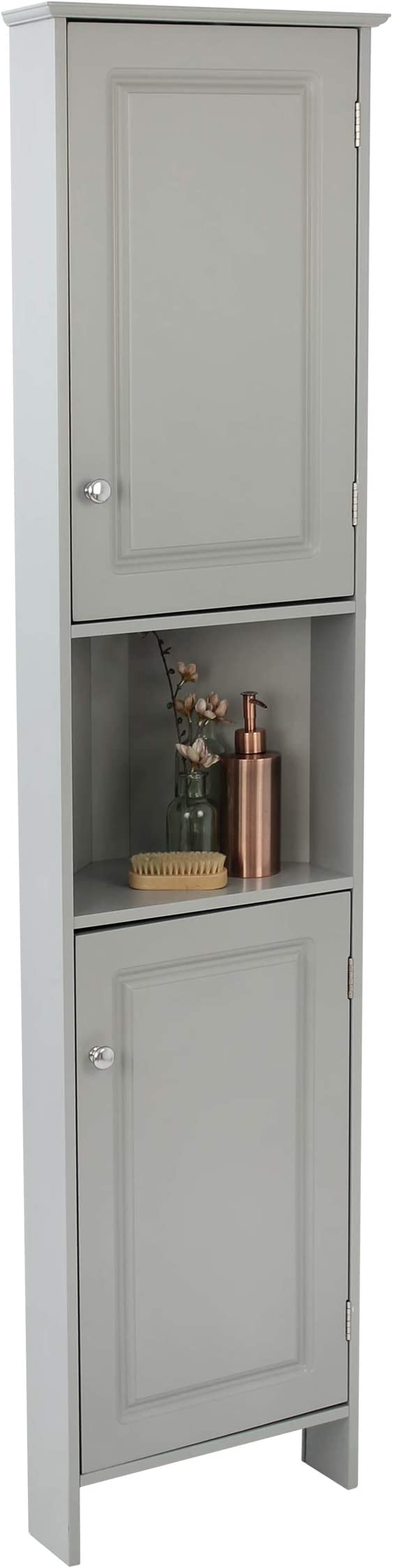 House Homestyle Tall Corner Bathroom Cabinet H 150cm X W 37cm X D 24 5cm Amazon Co Uk Kitchen Home