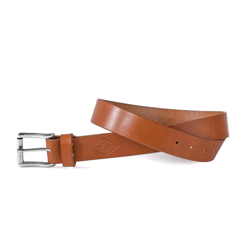 "Tan Leather Belt, 1.5"", Belt For Men, Personalized Belt, Handmade in Arizona, Full Grain Leather 1.5"""