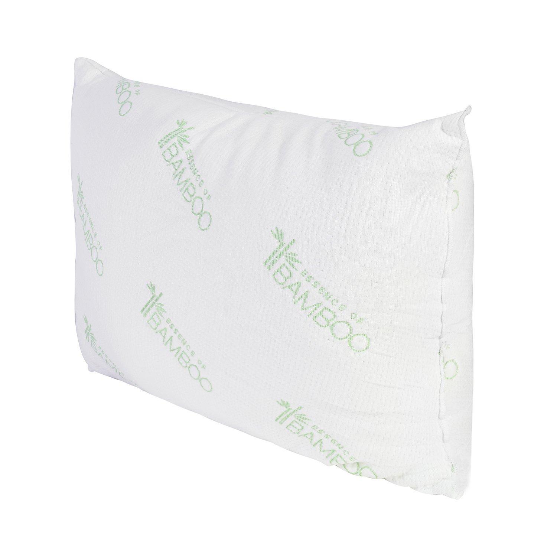 Amazon Essence of Bamboo Derived Rayon Pillow Platinum