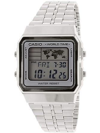 eac258710cad2 Relógio Feminino Casio Vintage Digital Fashion A500WA-7DF  Amazon ...