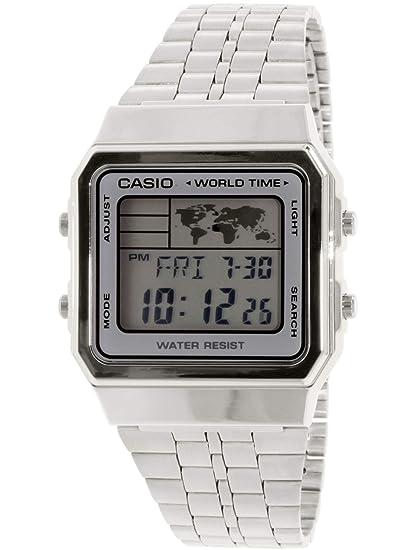 69210509c952 Casio Smart Watch Armbanduhr A500WA-7  Amazon.es  Relojes