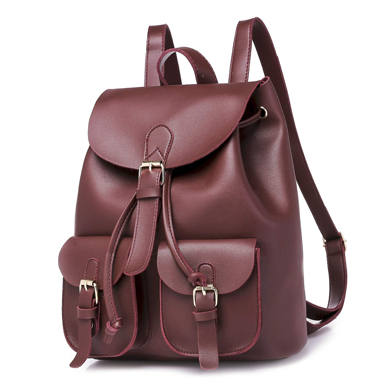 5a5d3ab02356 WUSHIYU Women Backpack Fashion School Leather Backpack Crossbady Shoulder  Bag Mini Backpack for Women   Teenage Girls Four Years Old Optional Women  ...