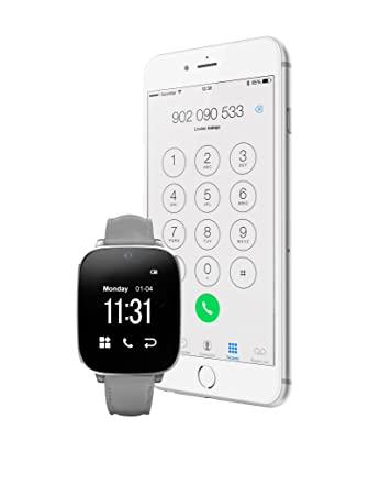 Unotec Reloj Bluetooth Watch-Bt5 Gris: Amazon.es: Hogar