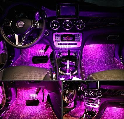 1PCS Ultra Blue USB Plug-In Miniature LED Car Interior Ambient Lighting Kit