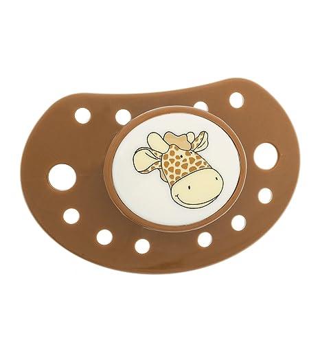 Chupete con diseño jirafa: Amazon.es: Bebé