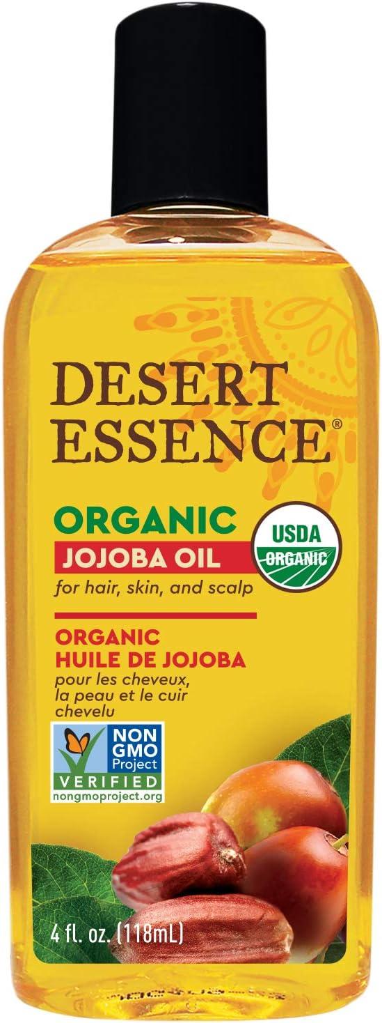 Desert Essence Organic Jojoba Oil - aceites para el cabello (Mujeres, Blonde hair, Brittle hair, Cabello mixto, Curly hair, Cabello dañado, Cabello seco, Cabello teñido, Moisturising)
