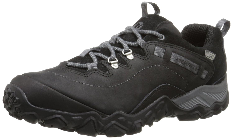 Merrell Women's Chameleon Shift Traveler Waterproof Hiking Shoe B00R4V4M4S 5 B(M) US|Black