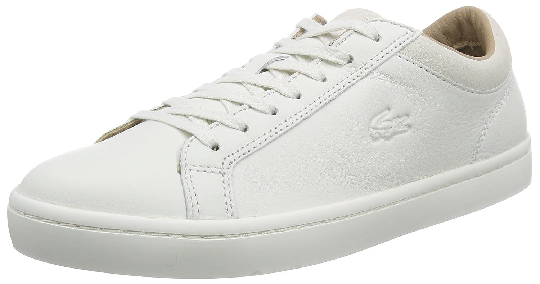 3f44592564 Lacoste Straightset CRF 2, Baskets Basses Hommes, Blanc-Weiß (Off WHT 098),  46.5 EU: Amazon.fr: Chaussures et Sacs