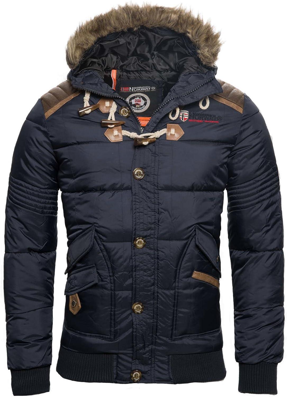 Geographical Norway Chaqueta de invierno para hombre, acolchada