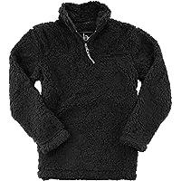 boxercraft Unisex Sherpa Quarter-Zip Pullover (Q10)