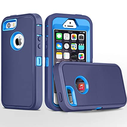 Amazon.com: Carcasa para iPhone 5S, iPhone SE, fogeek Heavy ...