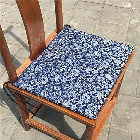 Amazon.com: Cojín para silla de comedor de seda china ...