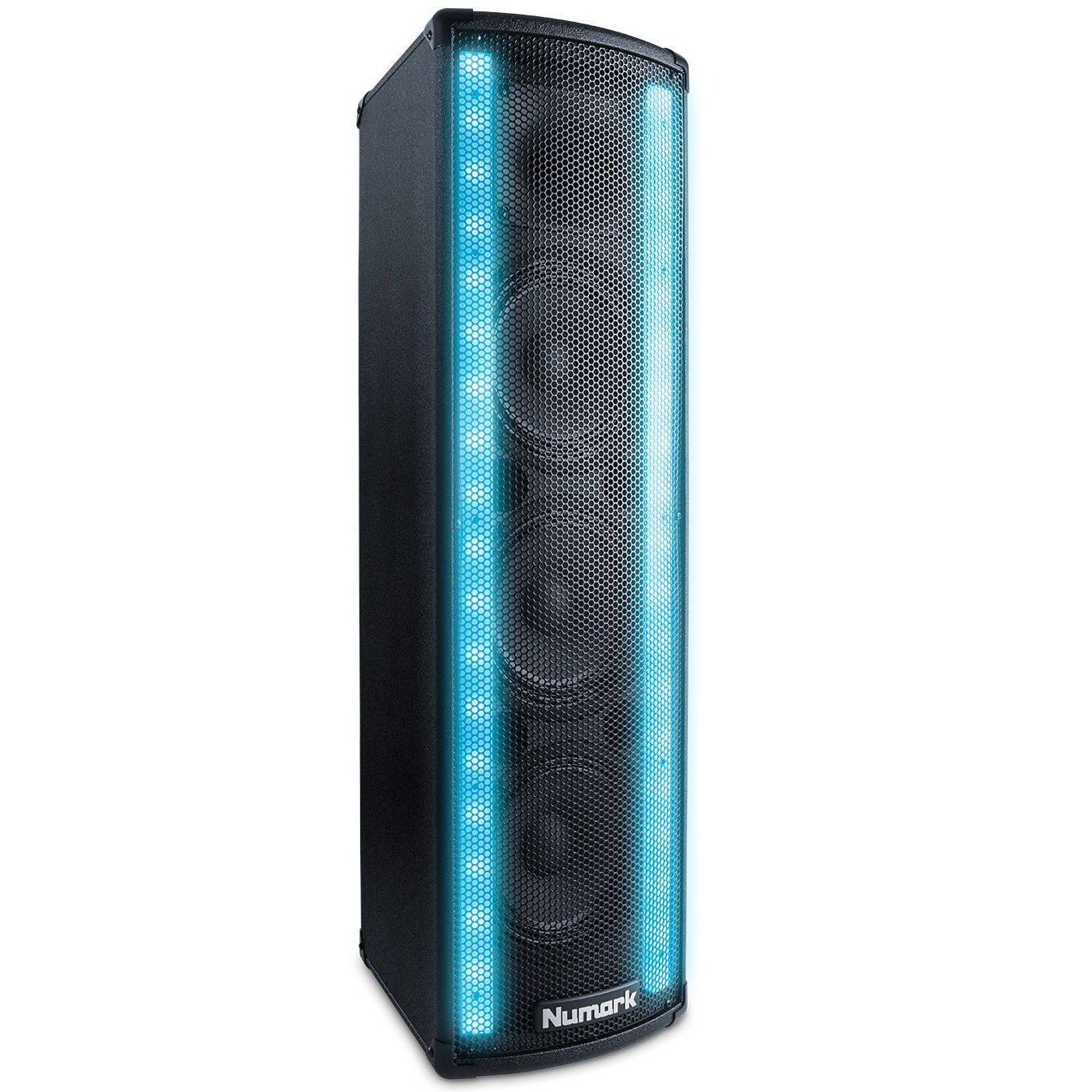 Numark Lightwave | 2-Way DJ Speaker with Beat Sync'd LED Lights