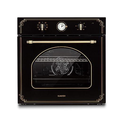 Klarstein Victoria Horno de cocina - Horno eléctrico, Diseño retro ...