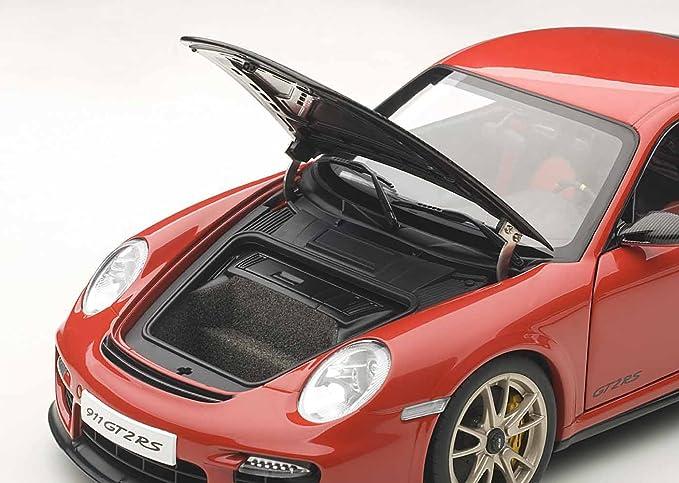 Porsche 911 GT2 RS  in rot//carbon  Autoart  Maßstab 1:18  NEU OVP 997