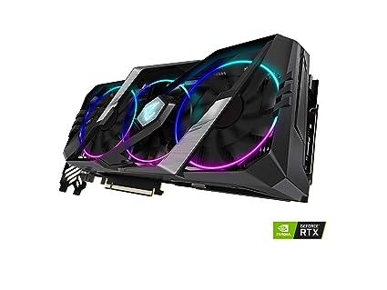GIGABYTE AORUS GeForce RTX 2080 Super 8G Tarjeta gráfica, 3 ...