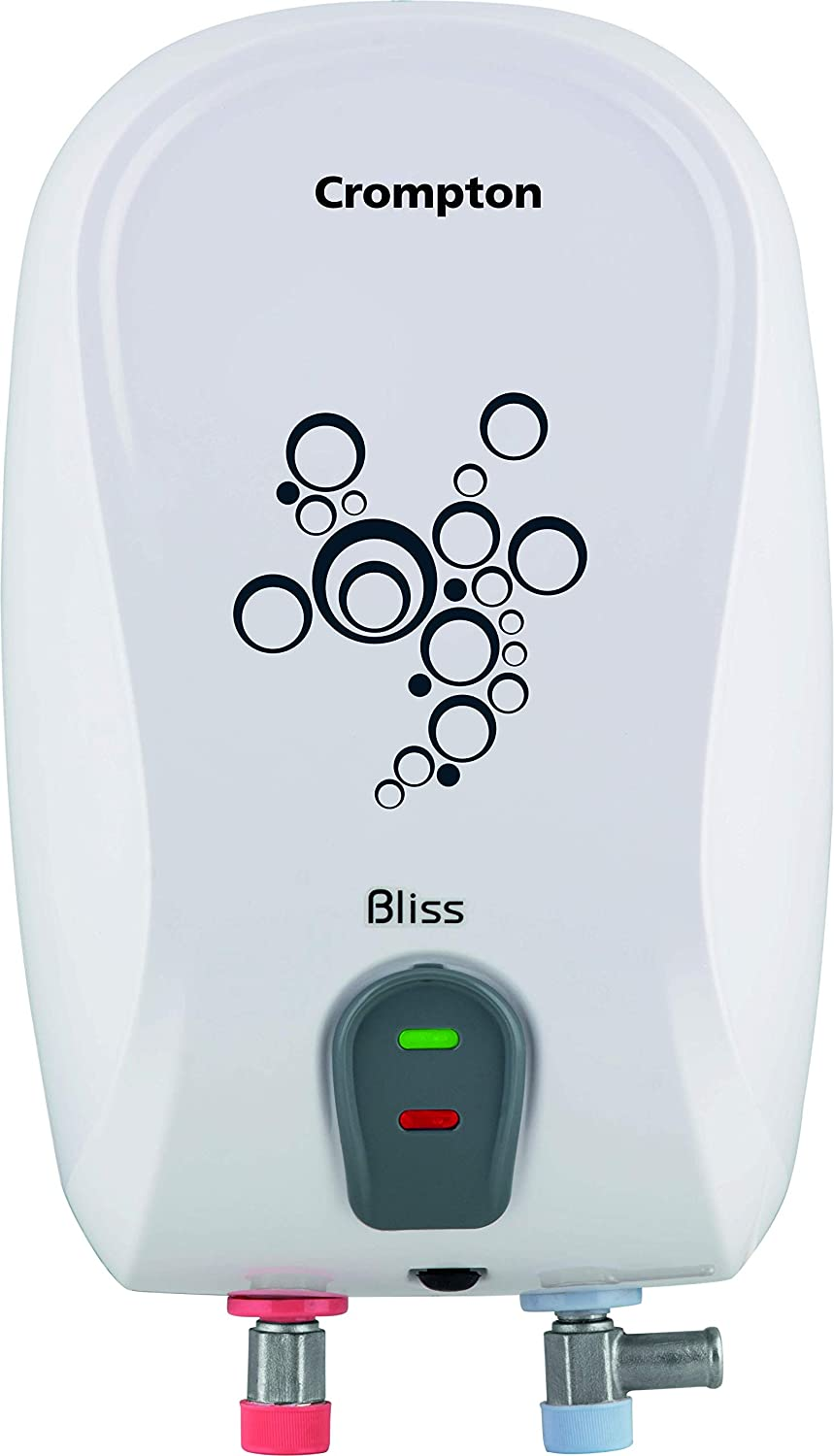 Crompton Bliss 3-Litre Instant Water Heater (White)