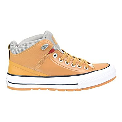 52253612e594 Converse Womens Chuck Taylor All Star Street Boot Hi Raw Sugar Black  Synthetic Trainers 38 EU
