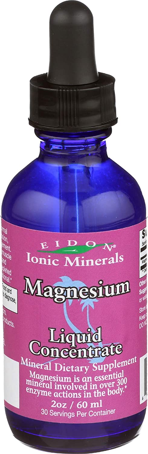 Eidon Magnesium Mineral Supplement, 2 Ounce