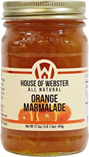 product image for House of Webster All Natural Sweet Orange Marmalade 17.5 oz