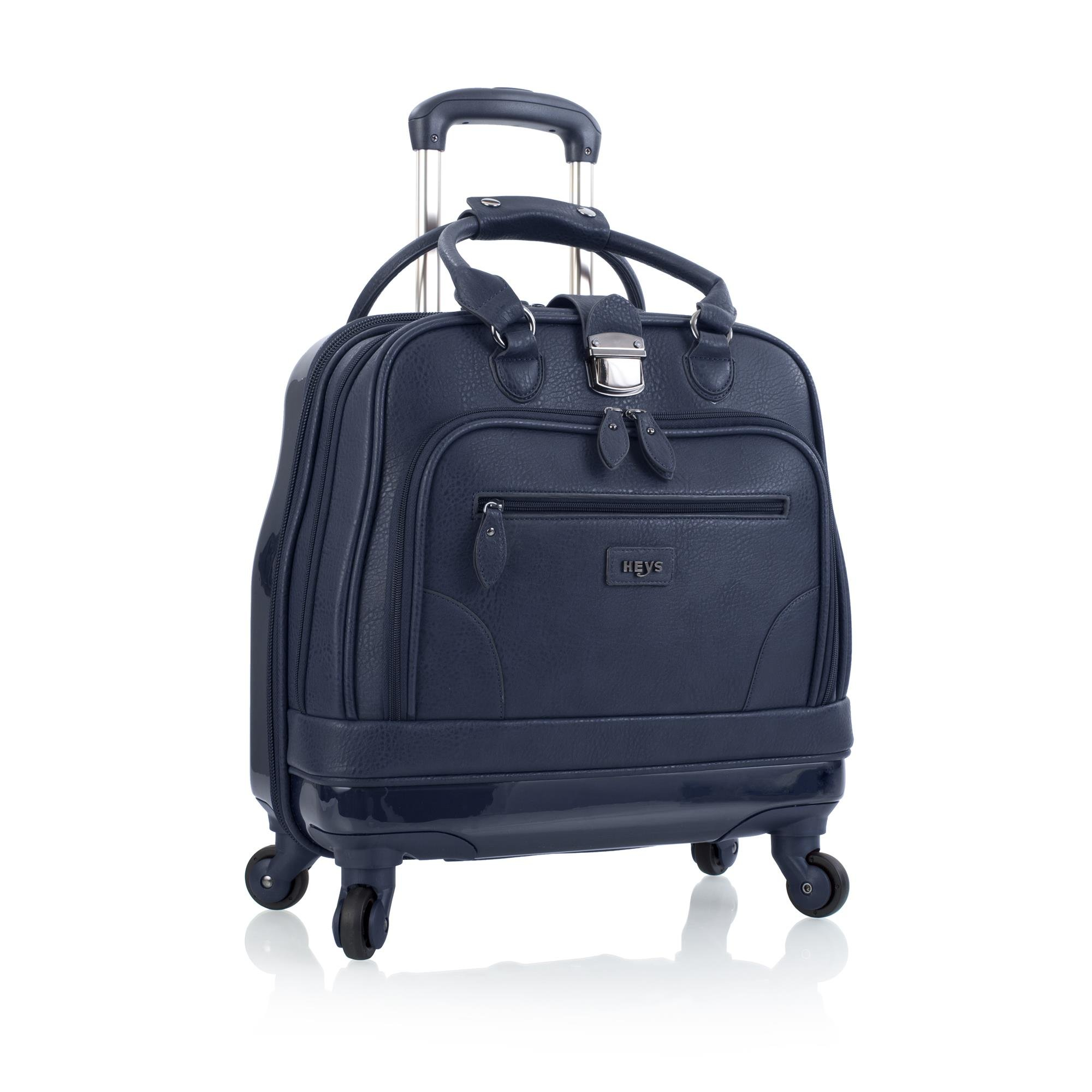 Heys America Nottingham Executive Business Case Rolling Luggage, Navy by HEYS AMERICA