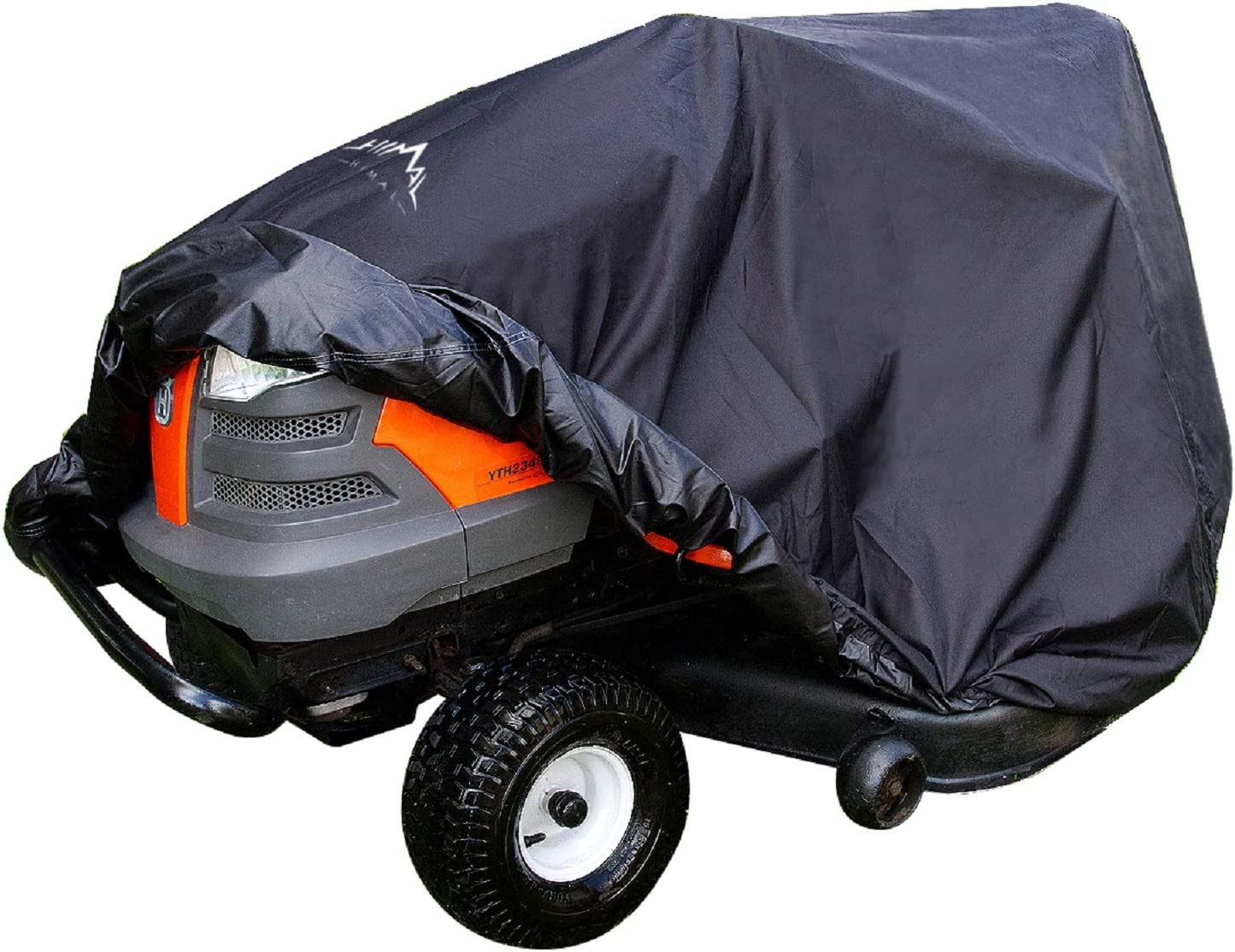 Push Lawn Mower Cover Outdoor Lawnmower Cover Heavy Duty 600D Waterproof Covers UV Protection Universal Fit with Drawstring /& Cover Storage Bag Lawn Mower Cover
