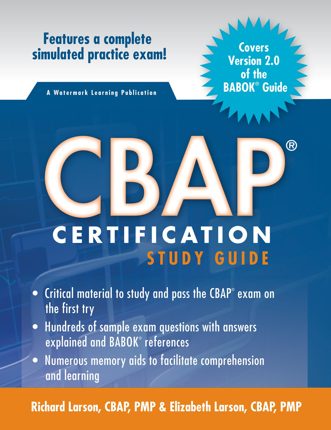 Cbap Certification Study Guide 2nd Edition Richard Larson