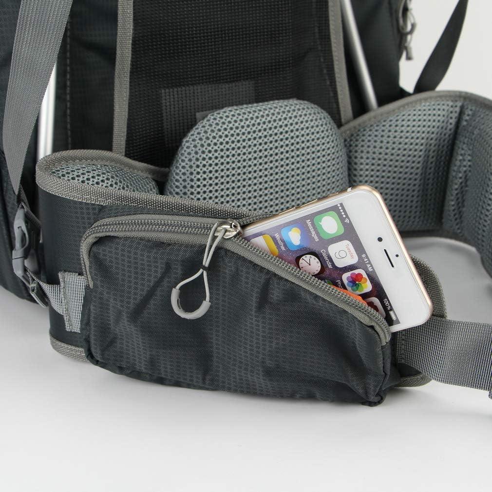 Caseman AOB5 Orange DSLR SLR Camera case Backpack Bag Travel Water Resistance with Rain Cover fit for Canon Sony Nikon Pentax Fuji