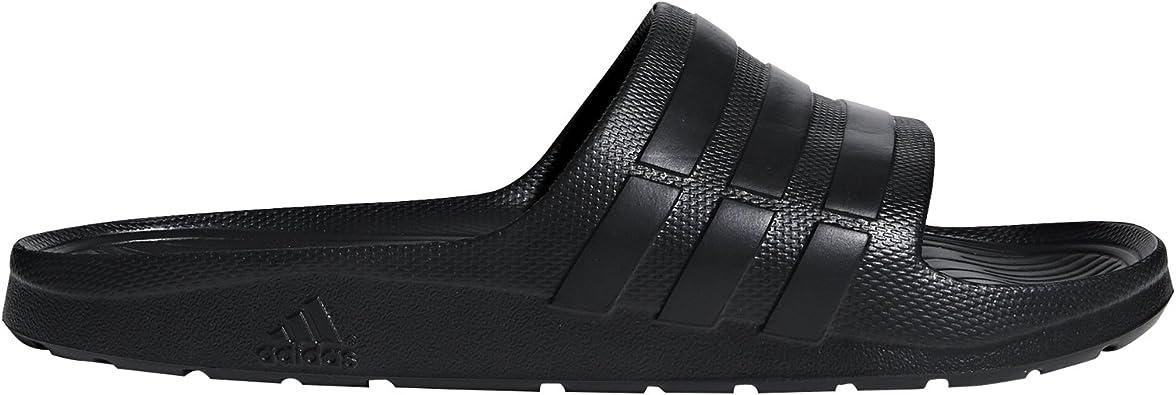 Centro de producción Medición trimestre  Amazon.com | adidas Duramo Slide Sandal | Sport Sandals & Slides