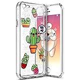 PHEZEN iPhone SE Case,iPhone 5S TPU Case, Cute