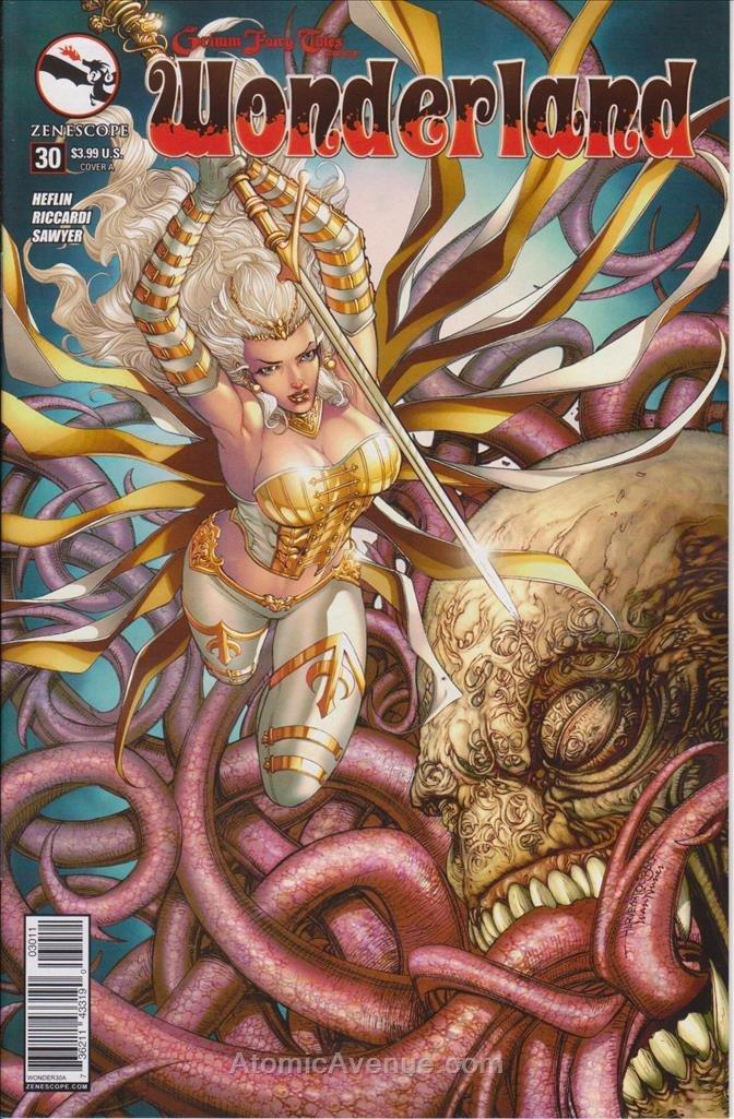 Amazon com: Grimm Fairy Tales presents Wonderland #30A VF/NM
