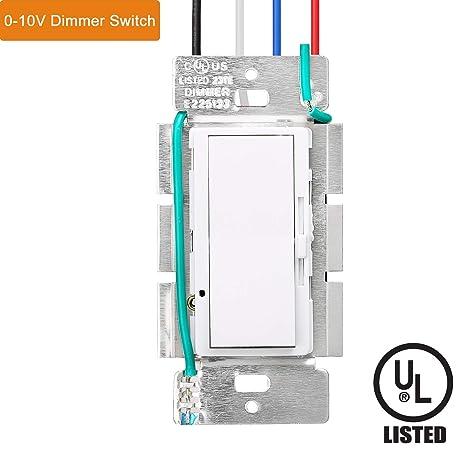 Tremendous Led Dimmer Switch Allsmartlife Single Pole 0 10V Led Dimmer For 2X2 Wiring Cloud Brecesaoduqqnet