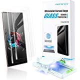 QITAYO Glass Screen Protector Compatible with Galaxy Note 20 Ultra, [High-end Series] Full 3D Curved Edge Tempered Glass…