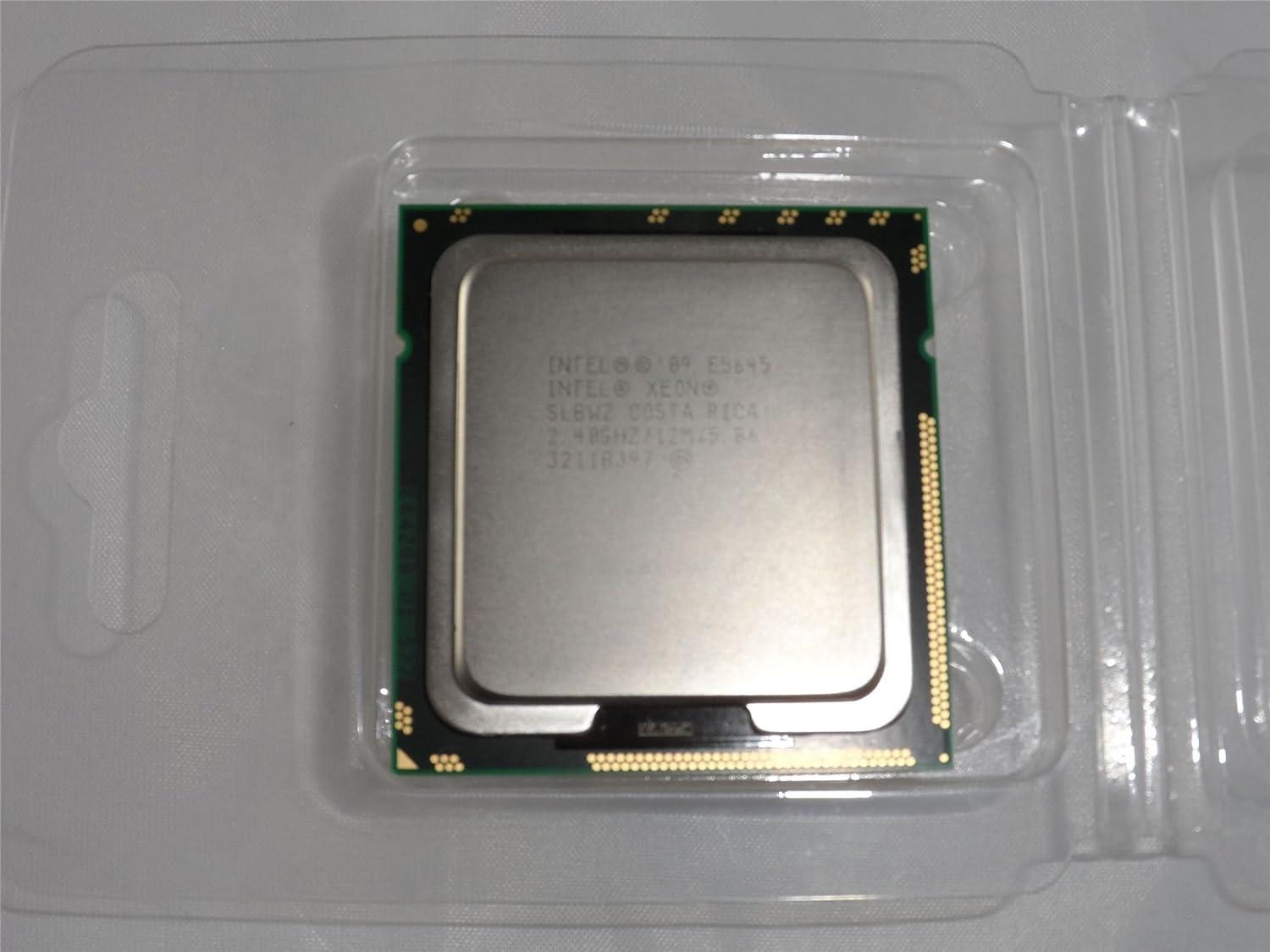 BX80614E5645 New Bulk Intel Xeon Processor E5645 12M Cache, 2.40 GHz, 5.86 GT//s Intel QPI