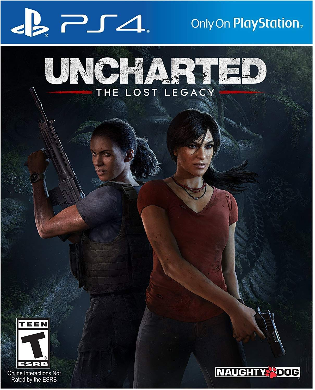 Amazon Com Uncharted The Lost Legacy Playstation 4 Uncharted Lost Legacy Video Games