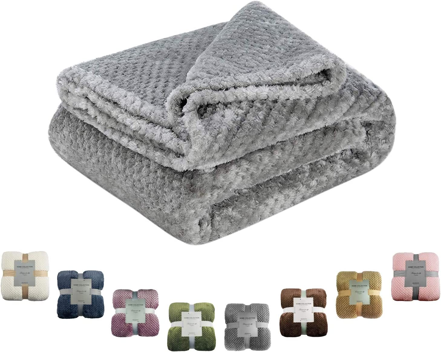 Msicyness Dog Blanket X Large Pink Premium Fleece Fluffy Throw Blankets Soft and Warm Covers for Pets Dogs Cats