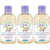 Earth Friendly Soothing Chamomile Shampoo & Body Wash 250ml (PACK OF 3)
