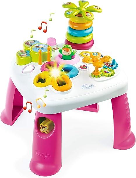 Smoby- Mesa electrónica de Actividades, Color Rosa (Simba Toys ...