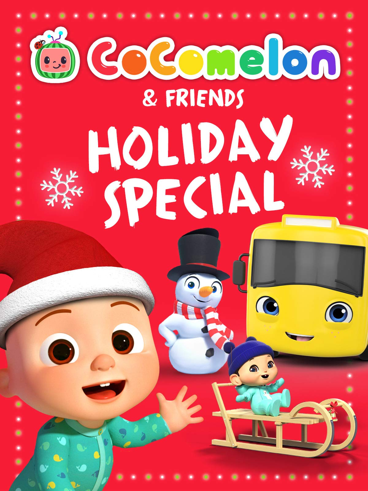 CoComelon and Friends Holiday Special on Amazon Prime Instant Video UK