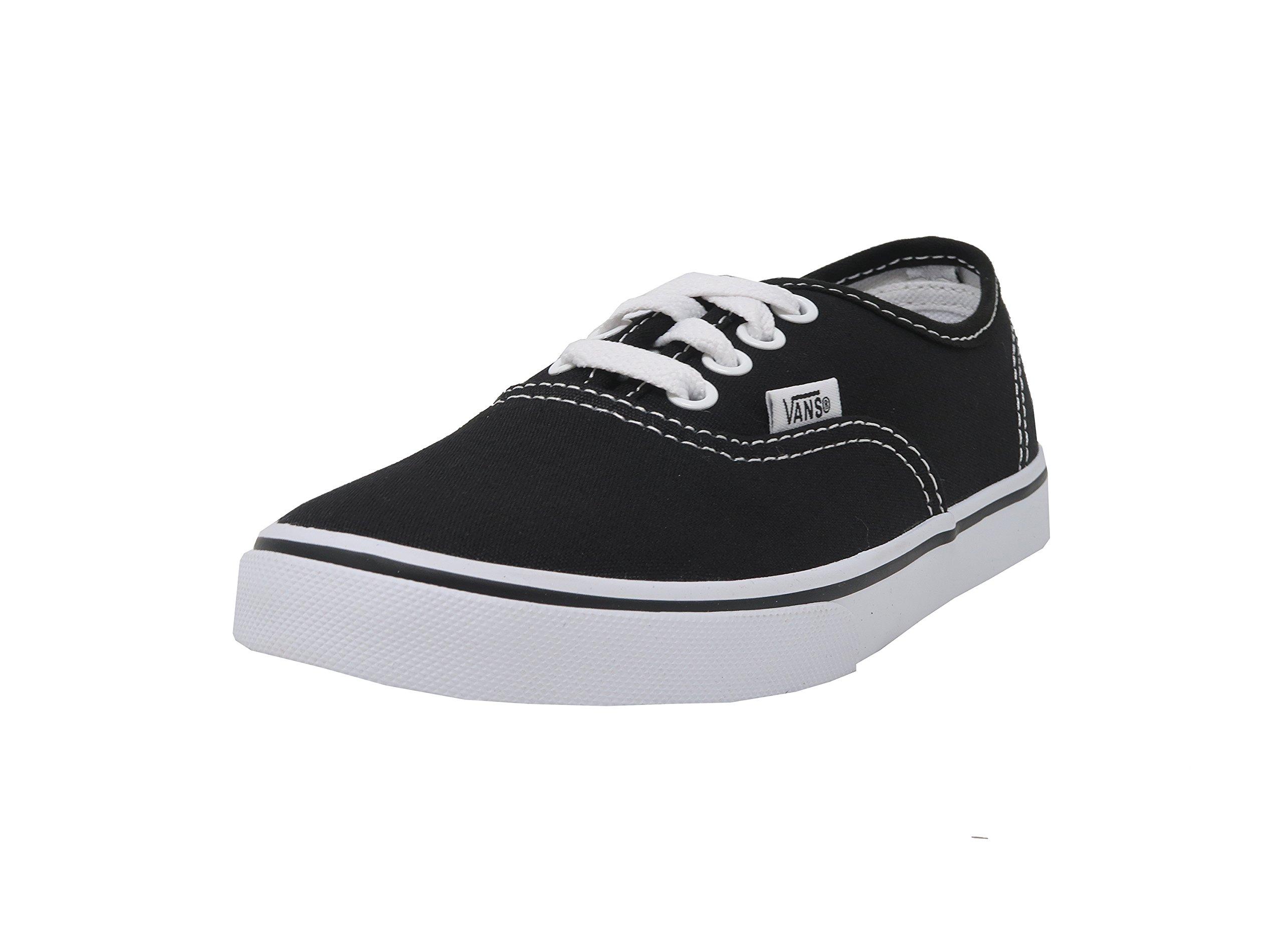 Vans Kids Authentic Lo Pro Casual Shoe Black/White - Little Kid - 11