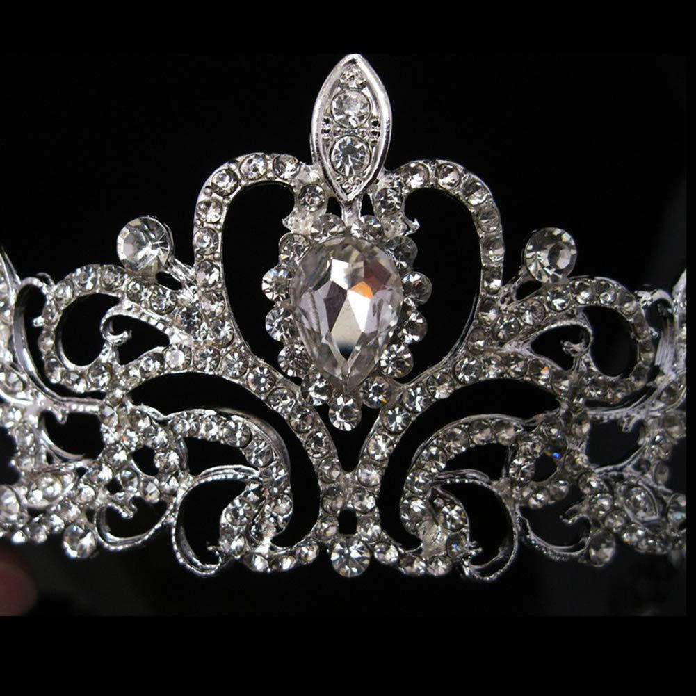 Ogquaton Accessoires de la Couronne de mari/ée Princesse Stage Auto Show