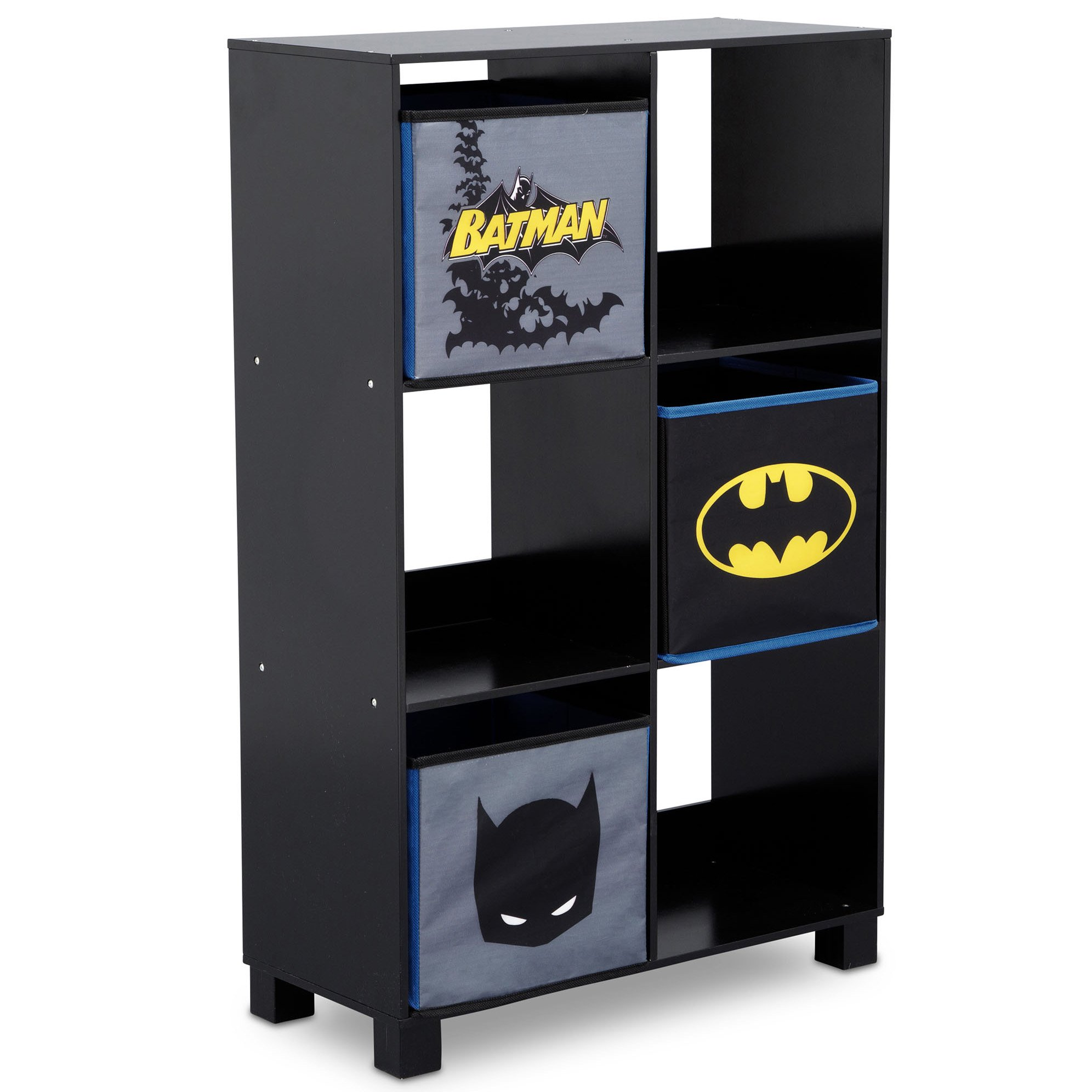 Delta Children 6 Cubby Deluxe Storage Unit DC Comics Batman