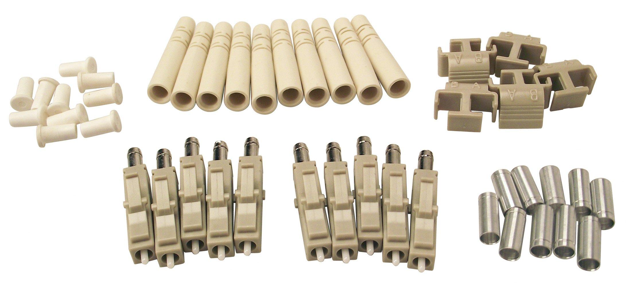 Shaxon FCLC-MM-10-B, LC Fiber Optic Connectors, Multimode, 10 Pack by Shaxon