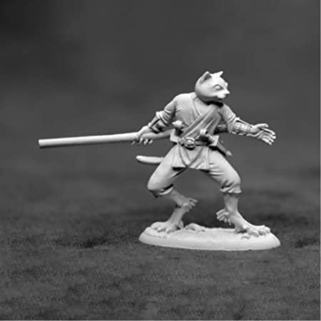 Reaper Miniatures Swiftpaw Catfolk 03923 Dark Heaven Unpainted Metal Figure Toys Games Amazon Com Whatever you call them, they're one of the most beloved and playable races in dungeons and dragons. reaper miniatures swiftpaw catfolk 03923 dark heaven unpainted metal figure