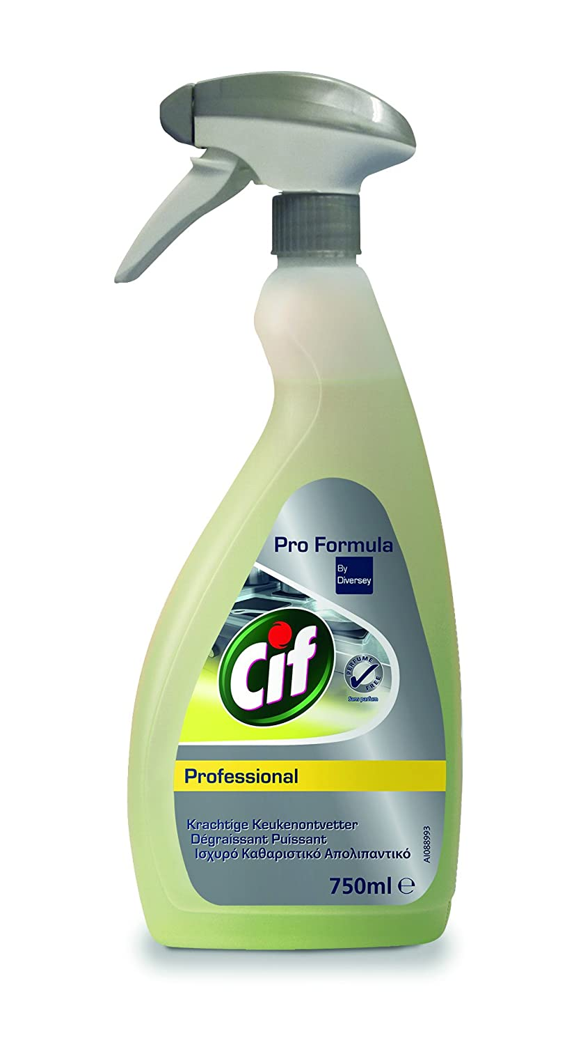 Cif Professional Powerful Degreaser 6 x 0.75 L (Pack of 6) Diversey 7517913