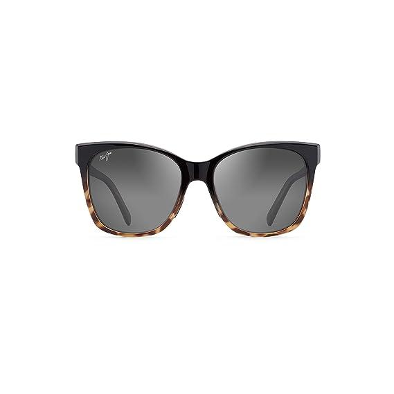 dac1bf8b18 Amazon.com: Maui Jim Sunglasses Blue Alekona GS79-02T Black with Tokyo  Tortoise Fashion Frame with Patented PolarizedPlus2 Lens Technology, ...