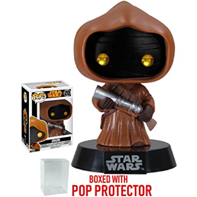 Funko Pop! Star Wars: Jawa #20 Vaulted Edition Vinyl Bobble-Head Figure (Bundled with Pop BOX PROTECTOR CASE): Toys & Games